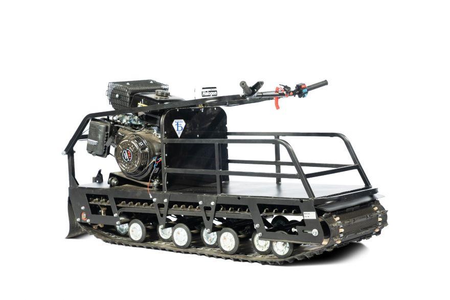 Мотобуксировщик Бурлак-М2 LRK/LFK 15 л.с. Промысловик
