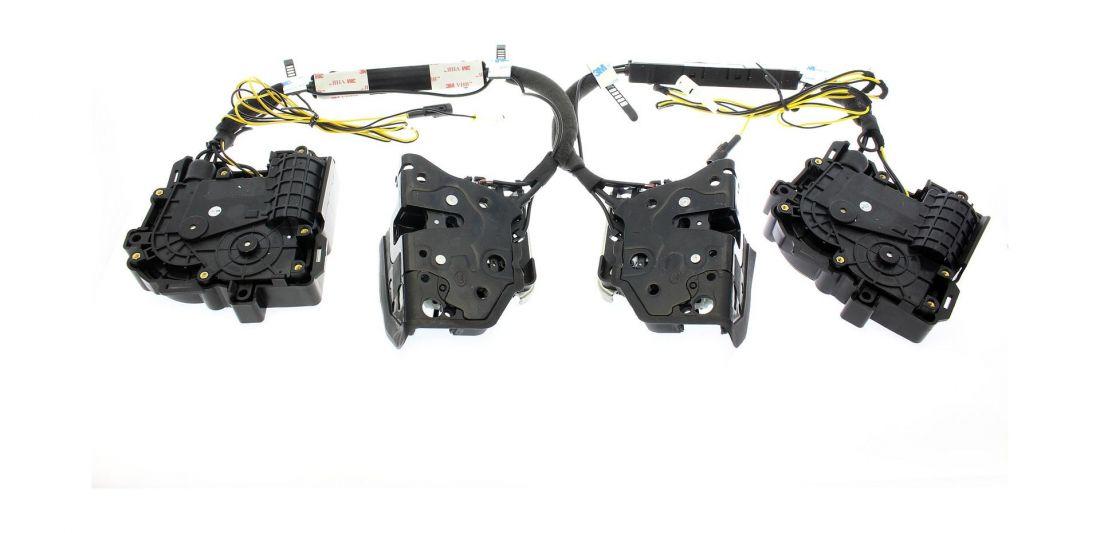 Бесштыревые доводчики передних дверей для АUDI Impulse XD010F (на 2 передние двери)
