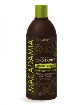 Кондиционер для нормальных и поврежденных волос увлажняющий MACADAMIA Kativa, 500 мл.