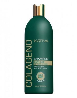Шампунь для волос коллагеновый COLLAGENO Kativa, 500 мл.