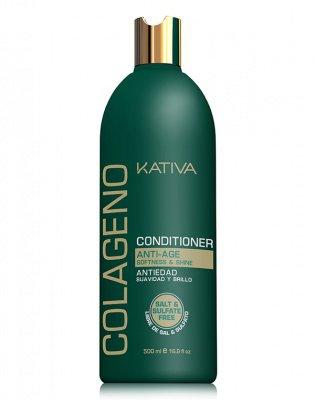 Кондиционер для волос коллагеновый COLLAGENO Kativa, 500 мл.
