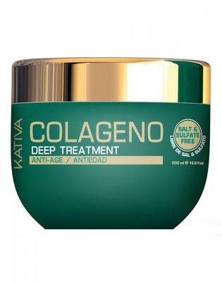 Маска для волос Интенсивный коллагеновый уход COLLAGENO Kativa, 500 гр.
