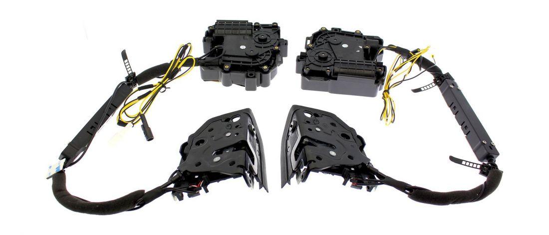 Бесштыревые доводчики задних дверей для АUDI Impulse XD010R (на 2 задние двери)