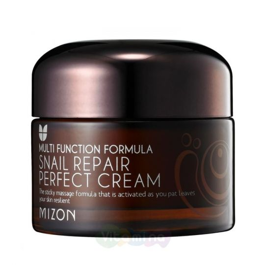 Mizon Питательный улиточный крем для лица Snail Repair Perfect Cream, 50 мл