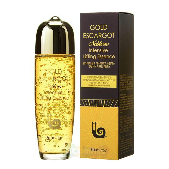 FarmStay Лифтинг-эссенция с муцином королевской улитки Gold Escargot Noblesse Intensive Lifting Essence, 150 мл