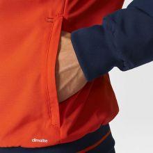 Парадная куртка adidas Tiro 17 Presentation Jacket тёмно-синяя с оранжевым