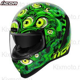 Шлем Icon Airform Illuminatus, Зелёный