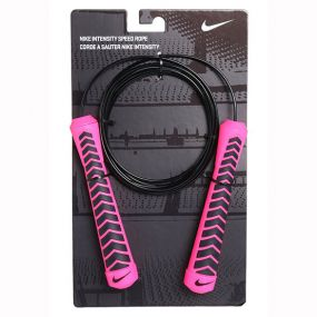 Скакалка Nike Intensity Speed Rope чёрно-розовая