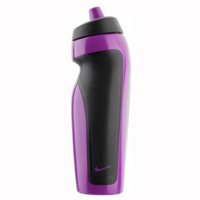 Фиолетовая спортивная бутылка для воды Nike sport water bottle