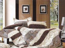 """Комплект постельного белья """"KARNA"""" Сатин DELUX PENIY 1.5-спальный   Арт.469/7"""