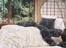 """Комплект постельного белья """"KARNA"""" Сатин DELUX RAVEN 1.5-спальный   Арт.469/12"""