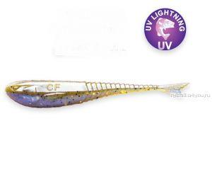 "Мягкая приманка Crazy Fish Glider (Плавающий) 3,5"" 90мм / упаковка 8 шт / цвет:3d-6 (запах кальмар)-F"