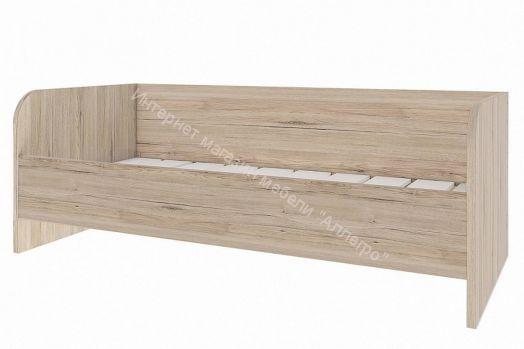 """Кровать """"Венето"""" СТЛ.266.16 (Дуб санремо/Белый)"""