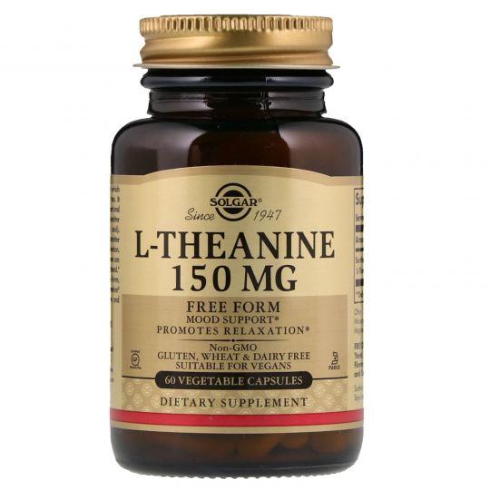 Солгар L-Теанин 150 мг, 60 капсул