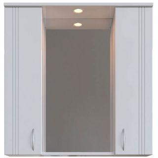 Зеркальный шкаф Sanstar Вольга 80 с подсветкой
