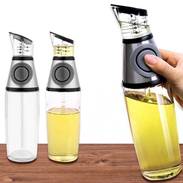 Бутылка-дозатор для растительного масла Oil Can, 500 мл., Цвет: Серый