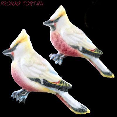 Сахарные фигурки Птички 2шт/уп.