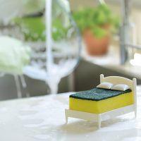 Губка для посуды на подставке CLEAN DREAMS (2)