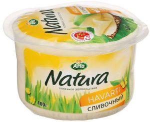Сыр Arla Natura сливочный, 400 гр