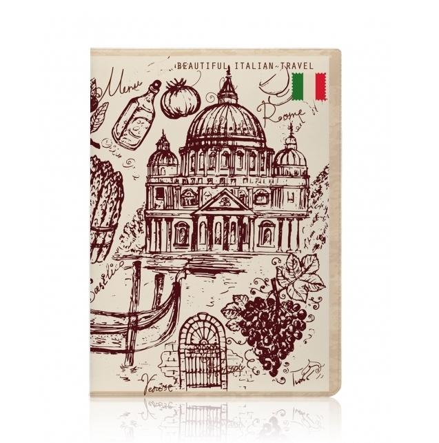 Обложка для паспорта Итальянское путешествие