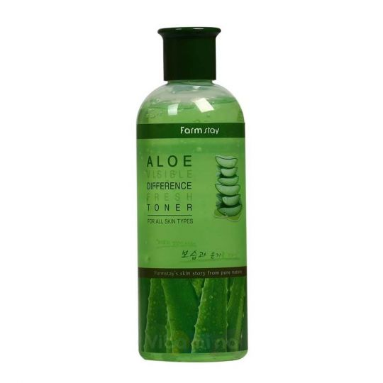 FarmStay Освежающий тонер с экстрактом алоэ вера Aloe Visible Difference Fresh Toner, 350 мл