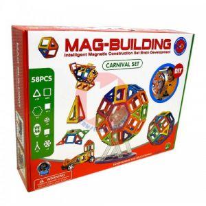 Конструктор MAG-BUILDING 58 деталей