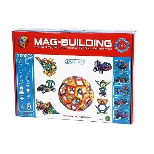 Конструктор MAG-BUILDING 200 деталей