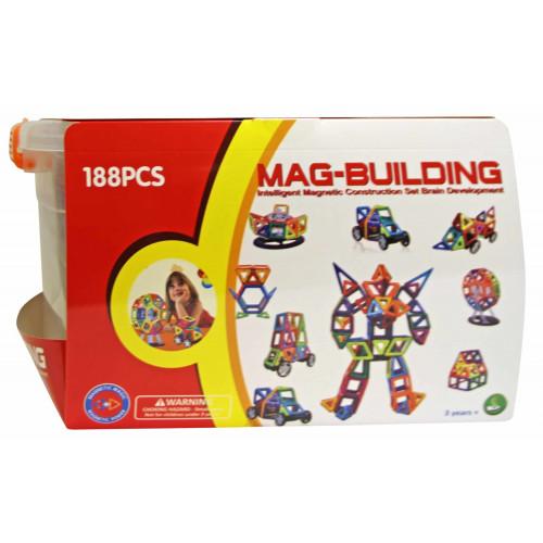 Конструктор Mag-Building Brain 188 деталей