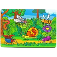 Развивающая игрушка: рамка-вкладка  «Букашки»