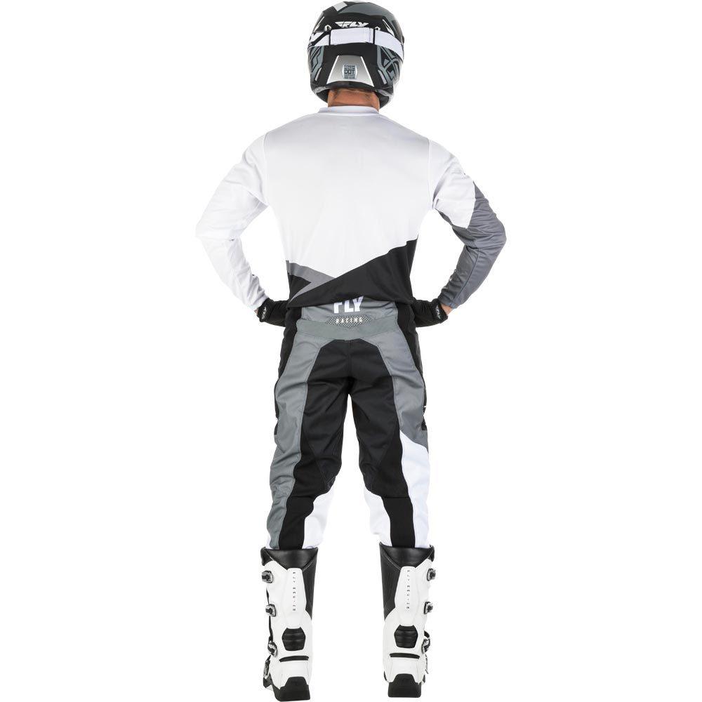 Fly 372-93034 Racing 2019 F-16 Motocross Pants 34 Black White Grey
