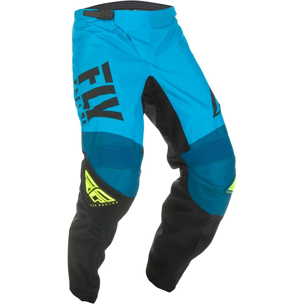 Fly Racing - 2019 F-16 Blue/Black/Hi-Vis штаны, сине-черные