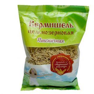 Вермишель пшеничная цельнозерновая, 350 гр
