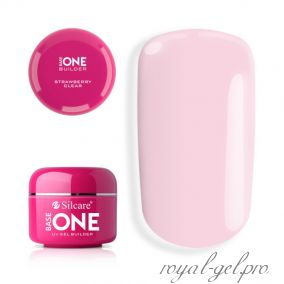 Gel Base One Clear Strawberry Silcare 50 гр