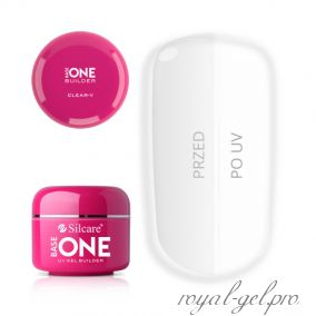 Gel Base One Clear V Silcare 15 гр