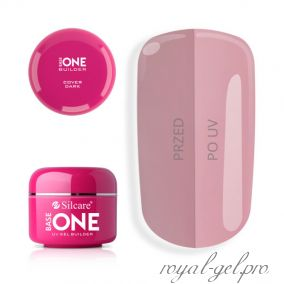 Gel Base One Cover Dark Silcare 30 гр