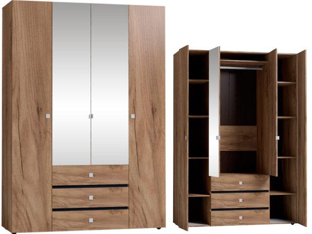 NEO 555 (спальня) Шкаф для одежды и белья