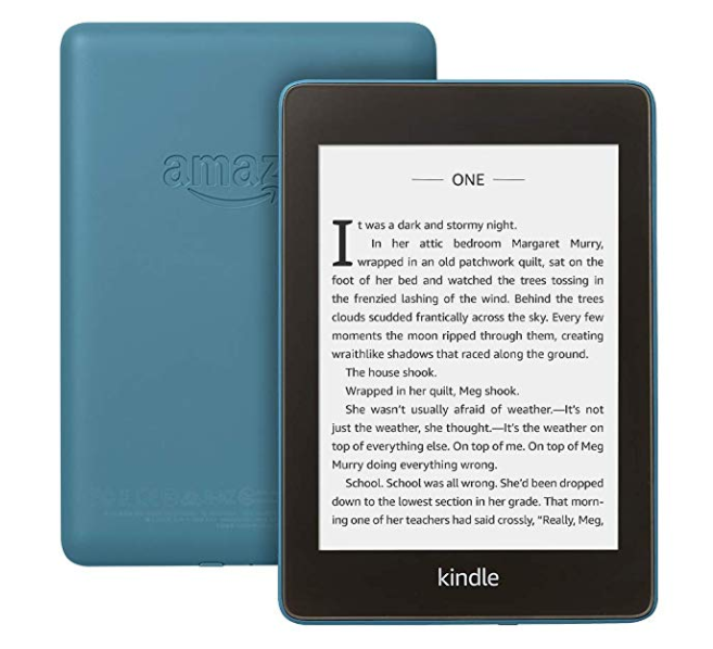 Электронная книга Amazon Kindle PaperWhite 2018 8Gb ( Синий )