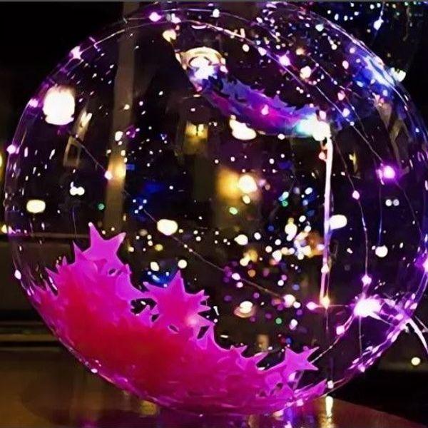Светящийся Led шар BoBo, Шарик Круглый с наполненителем