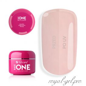 Gel Base One Dark French Pink Silcare 50 гр