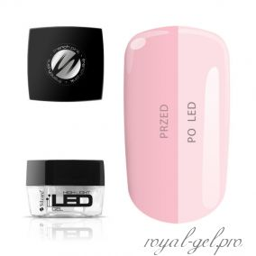 Gel High Light LED French Pink Silcare 1000 гр