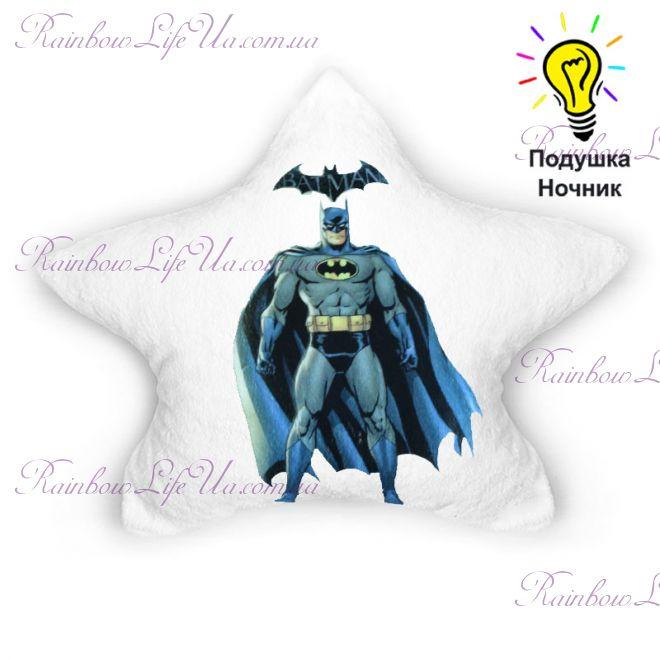 """Подушка светящаяся """"Batman"""""""