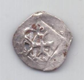 1 пфеннинг XIII века Крестоносцы Германия
