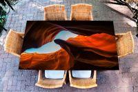 Наклейка на стол - Каньон | фотопечать Интерьерные наклейки