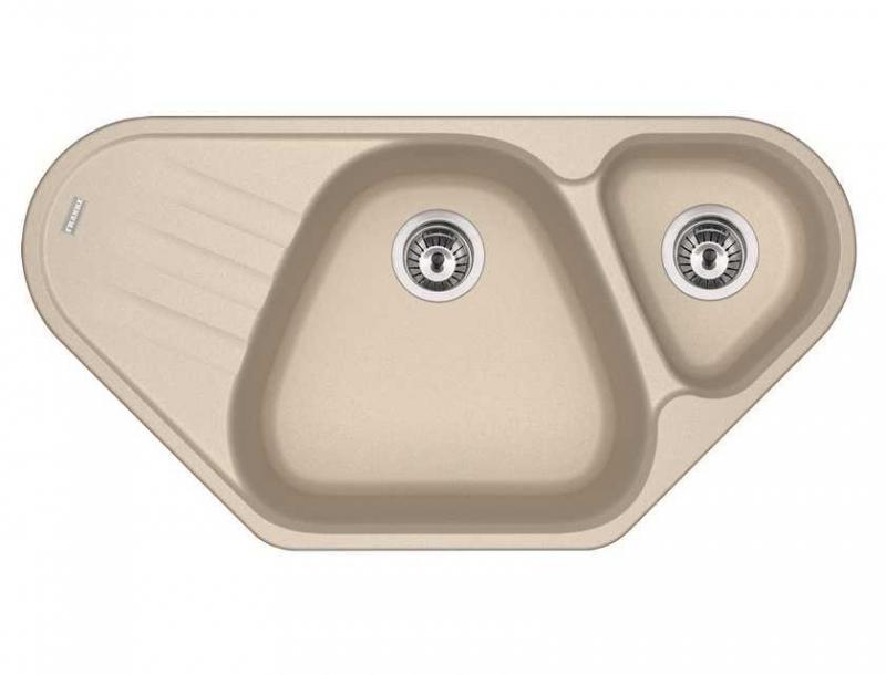 Врезная кухонная мойка FRANKE AZG 661-E 96х50см искусственный гранит 114.0489