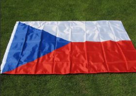 Флаг Чехии государственный 90х150 см