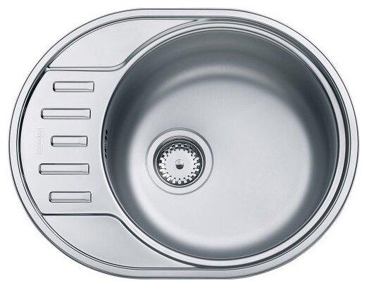 Врезная кухонная мойка FRANKE PXL 611-57 57х45см нержавейка 101.0443.085