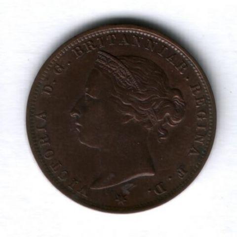 1/24 шиллинга 1894 года Джерси XF