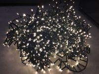 Гирлянда Luca Lighting теплый белый свет (1000 ламп, длина гирлянды 2000 см) для ёлки 230-260 см