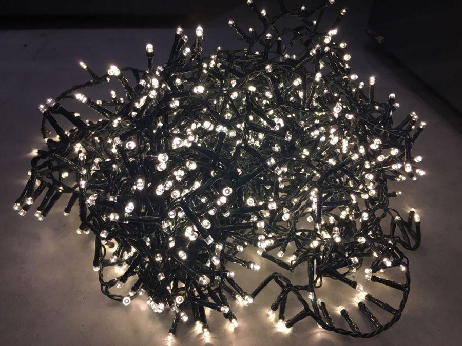 Гирлянда Luca Lighting теплый свет (700 ламп, длина гирлянды 1400 см) для ёлки 215 см