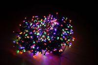 Гирлянда Luca Lighting мультиколор (700 ламп, длина гирлянды 1400 см) для ёлки 215 см